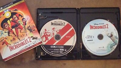 The Incredibles 2 (4K Ultra HD Disc, Bonus Disc & Case Only) No Blu-Ray, No Code