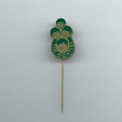 Beatles Old Green Pin Badge of the 60s