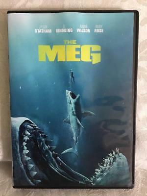 The Meg Dvd Region 1 Usa Only Viewed Once 2 Disc Pack