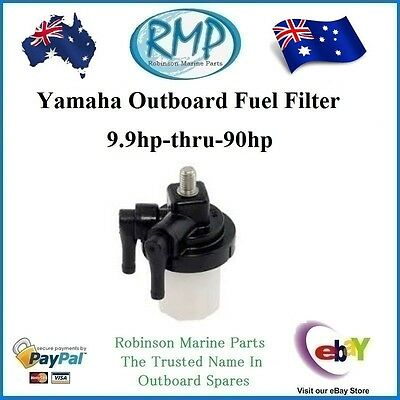 A Brand New Yamaha Outboard Fuel Filter 9.9hp-thru-90hp 1994-2018 R 61N-24560-00