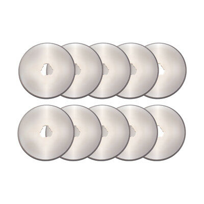 10pcs 45mm Rotary Cutter Refill Blades DIY Sewing Quilting Cutting Tool FA346