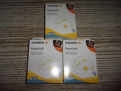 Medela Freestyle Replacement Tubing (LOT OF 3)