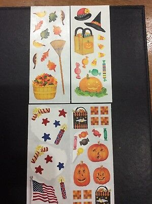 Creative Memories Studio Sticker - HALLOWEEN, WITCHES HAT, LOLLY BAG PUMPKINS