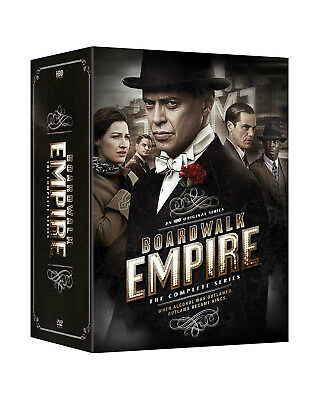 Boardwalk Empire: The Complete Series season 1 2 3 4 5 (DVD, 2015, 20-Disc Set