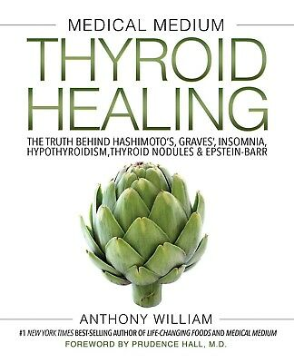 Medical Medium Thyroid Healing The Truth behind by Anthony William Hardcover NEW