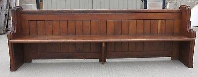 A Medium Size 19th Century Oak Church Pew