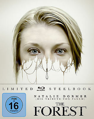 The Forest - Limited Steelbook Edition  (Blu-ray+UV Copy) Natalie Dormer - TOP!!