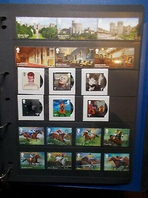 GB 2017 Commemorative Stamps~Year Set~Unmounted Mint~no m/s~UK Seller