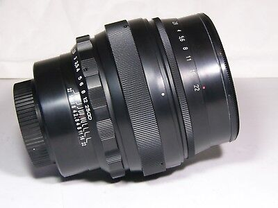 Helios 40-2 1.5/85mm portrait lens M42-mount. BRAND NEW!