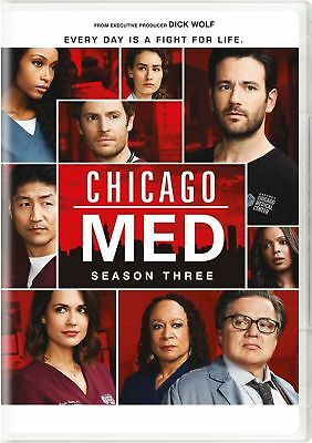 New Chicago Med:Complete Third Season 3 (DVD,5-Disc set) Free shipping