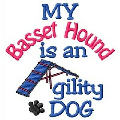 My Basset Hound is An Agility Dog Short-Sleeved Tee - DC1816L