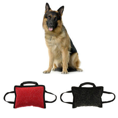 Dog Bite Pillow Training Tug Toy Sleeve Arm Durable Chewing Supplies