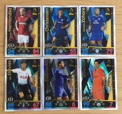Match Attax 18/19 Man of the Match Bundle