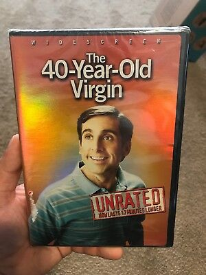 The 40-Year-Old Virgin (DVD, 2005, Widescreen; Unrated) NEW