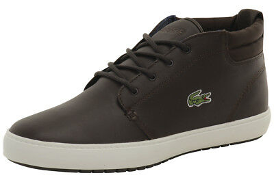 db74dbd5e LACOSTE MEN S AMPTHILL Terra 316 1 Dark Brown Sneakers Shoes ...