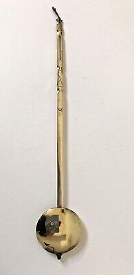 Antique Brass And Lead Clock Pendulum, (Bob and Rod)