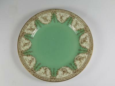 Replacement Antique China ROYAL WORCESTER SIDE PLATE Green & Brown 1919