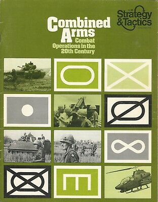 Strategy & Tactics S&T #46 Combined Arms - Modern Combat 1939-70s Play Copy FS