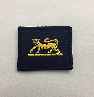 PWRR TRF, Princess of Wales Regiment, Army MTP Patch Combat, Military, Hook Loop