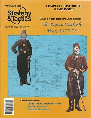 Strategy & Tactics S&T#154 Wars of Imperial Age Russo-Turkish War Unpunched FS