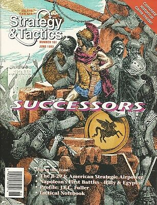 Strategy & Tactics S&T#161 Successors to Alexander the Great Unpunched FS