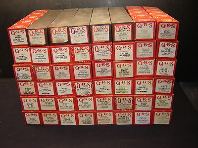 48 Vintage Player Piano Rolls Q R S