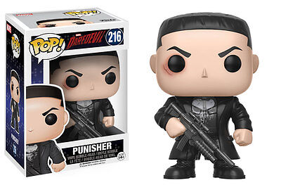 FUNKO POP TELEVISION DAREDEVIL SERIES 2 PUNISHER #216 Vinyl Figure IN STOCK