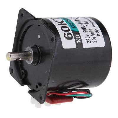 60KTYZ 220V 20RPM Permanent Magnetic Electric Synchronous Motor 50-60HZ 14W