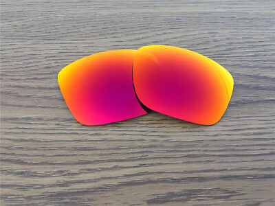 Inew Fire Red  Polarized Replacement lenses for Arnette Witch Doctor
