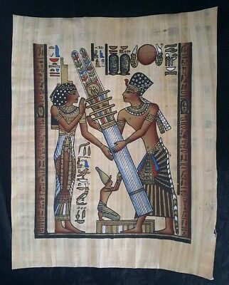 """Egyptian Papyrus Original Hand Painted Made in Egypt 13'' X 17"""""""