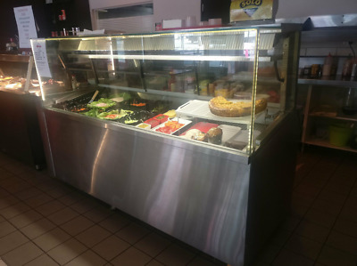 Sandwich display bar and chiller