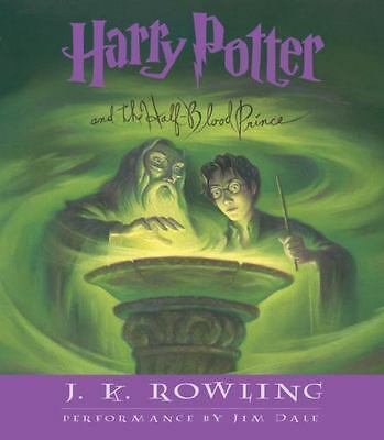 Harry Potter and the Half-Blood Prince Year 6 by J. K. Rowling 17 CD audio book