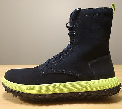 Under Armour UAS RLT Fat Tire Summer Boot Navy Blue Neon SZ 1307158-089