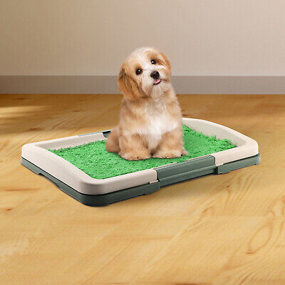 Puppy Potty Training Pad Mat Pet Toilet Train Seat Dog Litter Tray Indoor House