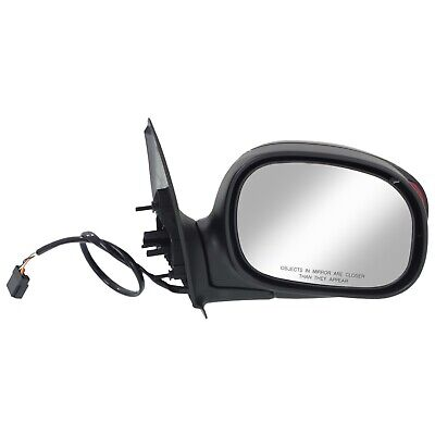 Mirror For 1997-2003 Ford F-150 With Signal Light In Housing Paintable Right