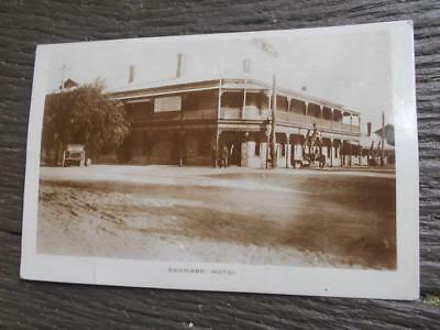 C 1910 Remark Hotel South Australia horse architecture pub beer SA Postcard