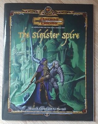 ++ The Sinister Spire 3e ++ D&D 3 th Edition, 3e Dungeons & Dragons
