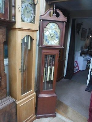 GRANDMOTHER /SMALL LONGCASE WESTMINSTER CHIMING  CLOCK 1 year warranty