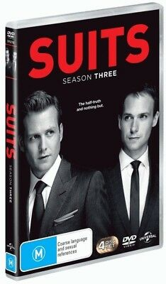 Suits: Season 3 = NEW DVD R4