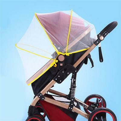 Universal Stroller Pram Baggy Carry Cot Insect Mosquito Net Safe Mesh Cover DP