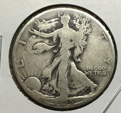 1936 Liberty Walking 90% Silver Half Dollar (Philadelphia Mint) Lot#92