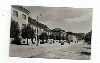 CZECH antique 1960 real photo rppc post card Brezova pod Bradlom