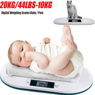Digital Baby Scale Weighing Infant Pet Scales Small Animal Kittens Puppie Rabbit