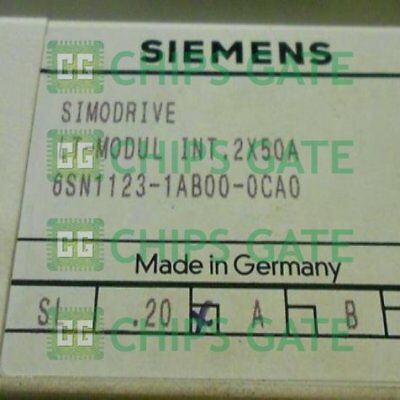 1PCS Used SIEMENS 6SN1123-1AB00-0CA0 Tested in Good condition