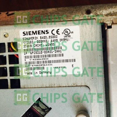 1PCS Used Siemens 6FC5210-0DA21-2AA1 Tested in Good condition
