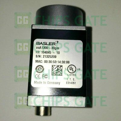 1PCS USED Basler acA1300-30gm Good Condiction Tested in Good condition