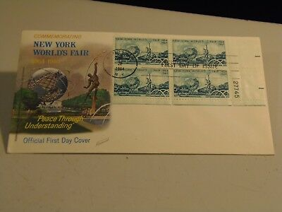 3 New York World's Fair 1964 - 1965 with Fleetwood Cachets  FDC
