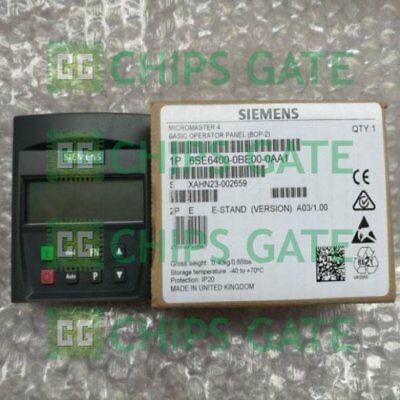 1PCS Used Siemens BOP 6SE6400-0BE00-0AA1 Tested in Good condition