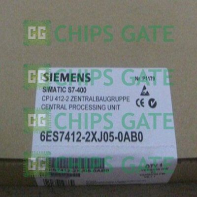 1PCS New In Box Siemens 6ES7412-2XJ05-0AB0 Fast ship with warranty