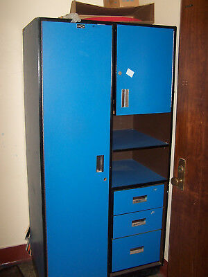 """used"" Lot Of 2-Wood Storage/ Locker Units - Pickup Only Ochdl-3"